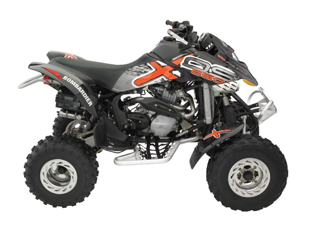 medium resolution of can am brp bombardier ds650 x 2005 2006