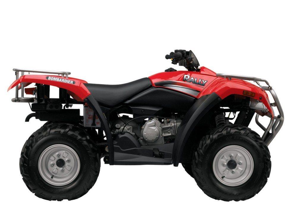 medium resolution of can am brp bombardier rally 200 2004 2005