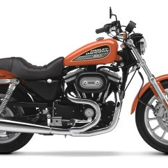 Harley Turns Petrol Into Noise Full Skeleton Diagram Davidson Sportster 883r 2001 2002 Autoevolution