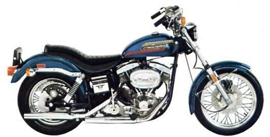 Glide 1975 Super Harley