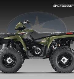 polaris sportsman 500 h o 2009 2010  [ 1600 x 1200 Pixel ]
