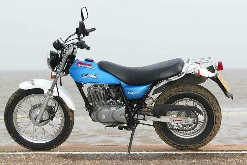 SUZUKI RV 125 VAN VAN Specs 2003 2004 2005 2006 2007