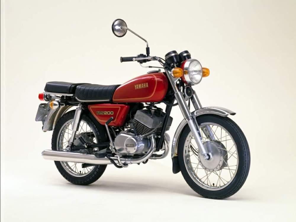 medium resolution of  yamaha rs 200 1979 1981