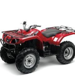 yamaha grizzly 350 2wd 2008 2009  [ 1680 x 1261 Pixel ]