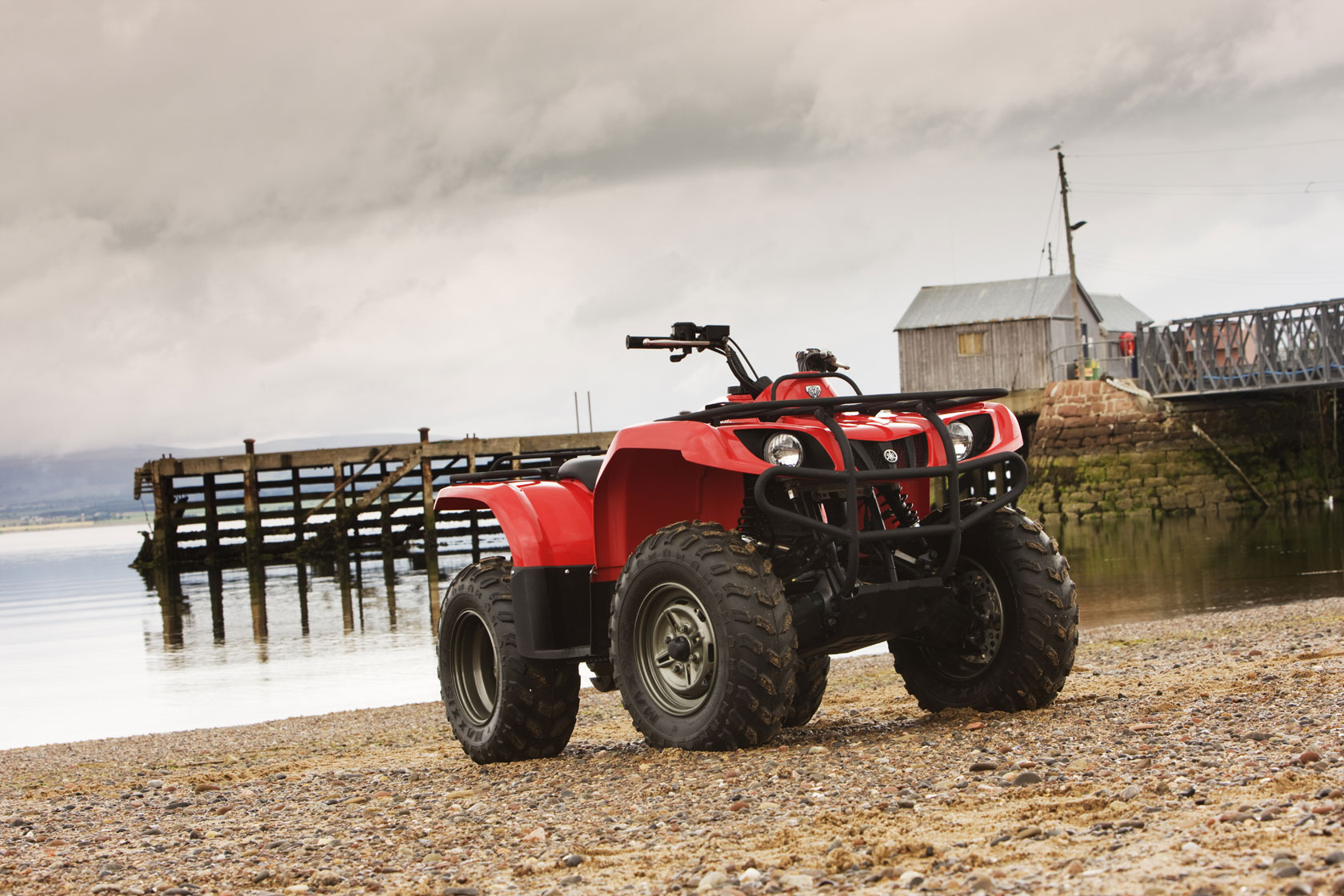 hight resolution of yamaha grizzly 350 4x4 2008 2009
