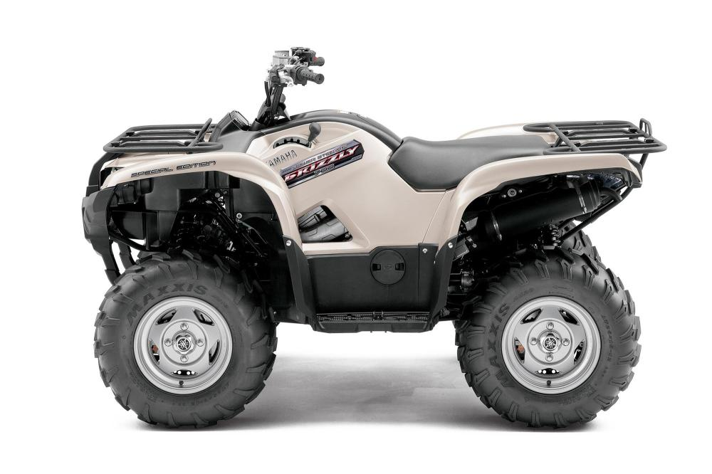 medium resolution of  yamaha grizzly 700 fi automatic 4x4 eps special edition 2011 2012