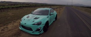 Tiffany Blue Supercharged Rocket Bunny Scion FR-S Is Not Your Average Toyobaru