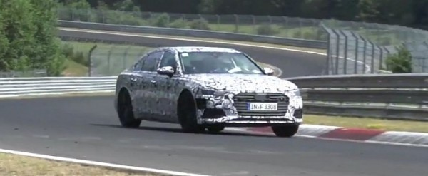 2019 Audi A6 Spied In Germany S6 Takes To Nurburgring