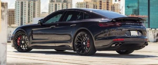 Back In Black 2018 Porsche Panamera Turbo Gets Stunning