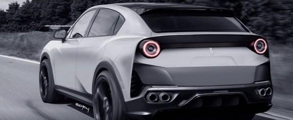 Ferrari Purosangue 2021 wordt de eerste SUV van het merk.