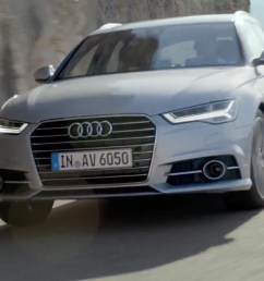2015 audi a6 facelift makes video debut in avant ultra form [ 1647 x 870 Pixel ]