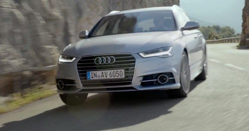 small resolution of 2015 audi a6 facelift makes video debut in avant ultra form