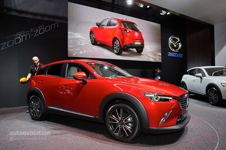 2016 Mazda CX 3 Fully Revealed In Geneva With 15L Diesel