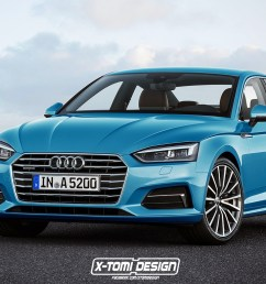 2017 audi a5 sportback and convertible will look like this [ 1366 x 768 Pixel ]