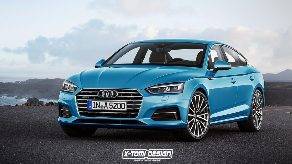 medium resolution of 2017 audi a5 sportback and convertible will look like this