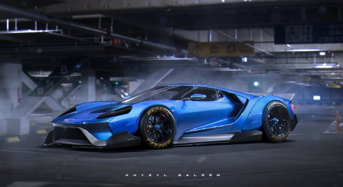 small resolution of 2017 ford gt egoista rendering has liberty walk widebody kit