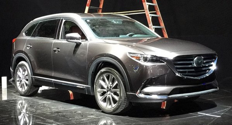2017 Mazda CX 9 Sneak Peek From The Los Angeles Auto Show