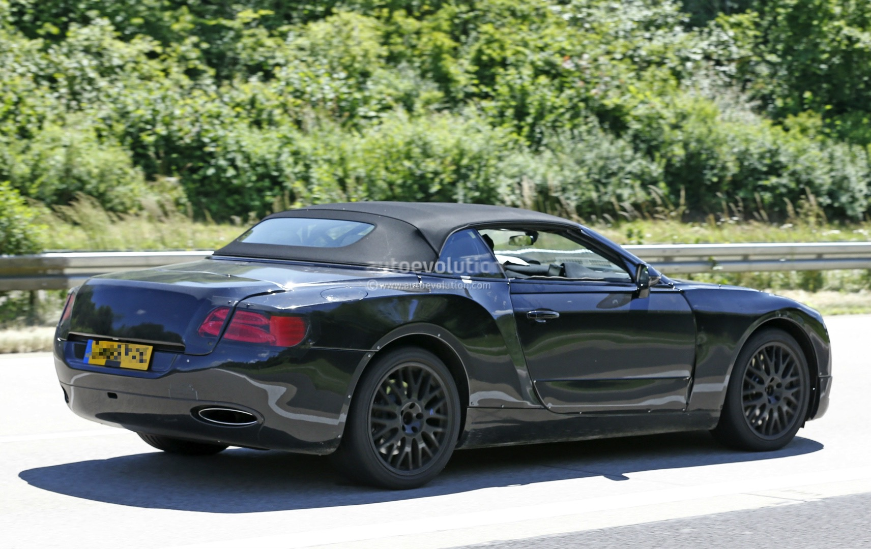 2018 Bentley Continental Gtc Says Cheese To The Camera