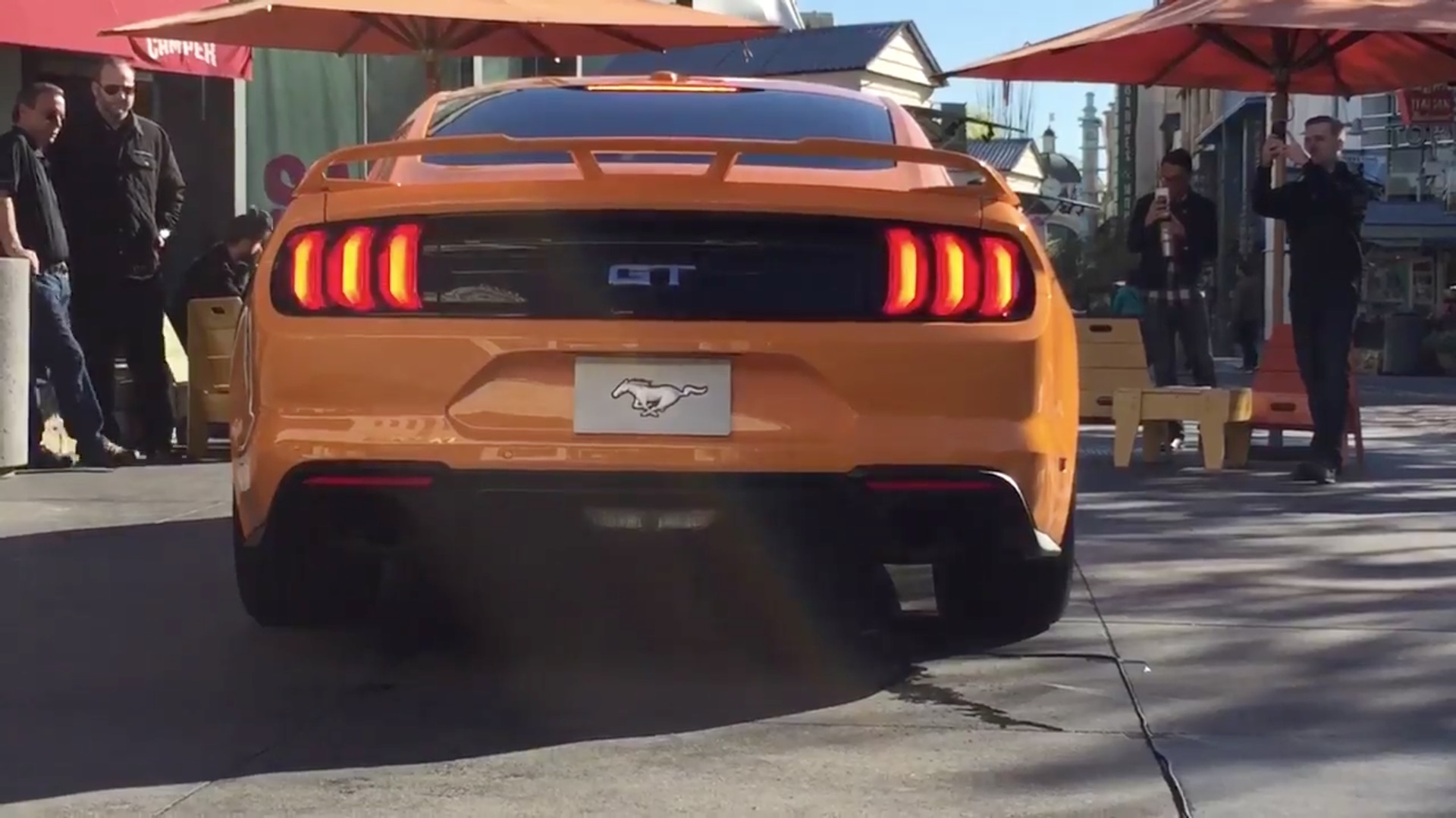2018 ford mustang gt active valve