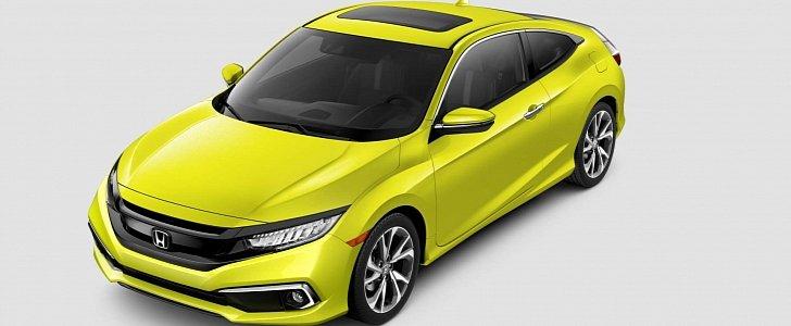 2019 Honda Civic Sedan Priced At 19450 Civic Coupe