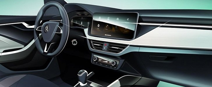 2020 Skoda Scala First Interior Photo and More Details