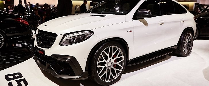 850 HP Mercedes AMG GLE 63 Coupe By Brabus Is Tricky To