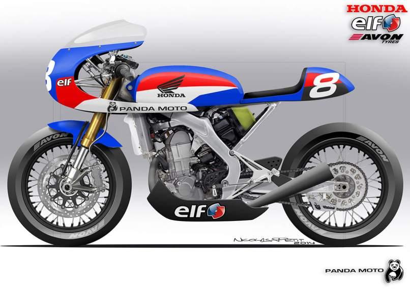 4 Photos Honda Crf450