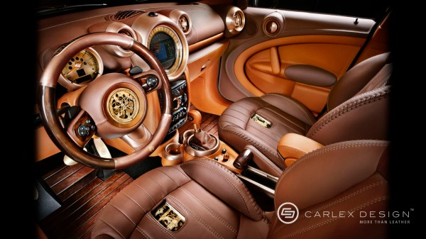 Steampunk Car Interior