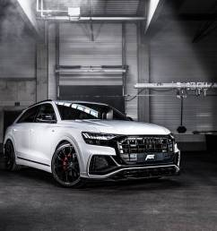abt gives audi q8 carbon seats 330 hp for 50 tdi engine [ 1193 x 796 Pixel ]