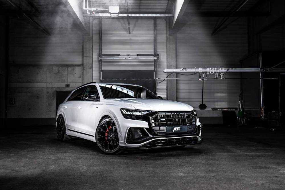 medium resolution of abt gives audi q8 carbon seats 330 hp for 50 tdi engine
