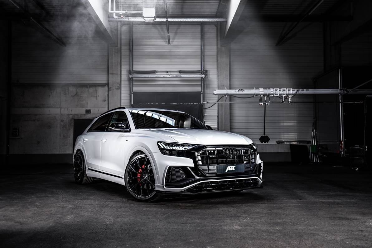 hight resolution of abt gives audi q8 carbon seats 330 hp for 50 tdi engine
