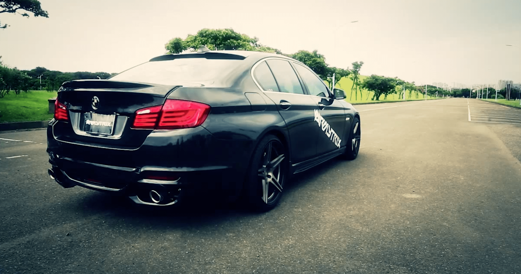 Armytrix Fitted BMW F10 535i Sounds Enticing - autoevolution