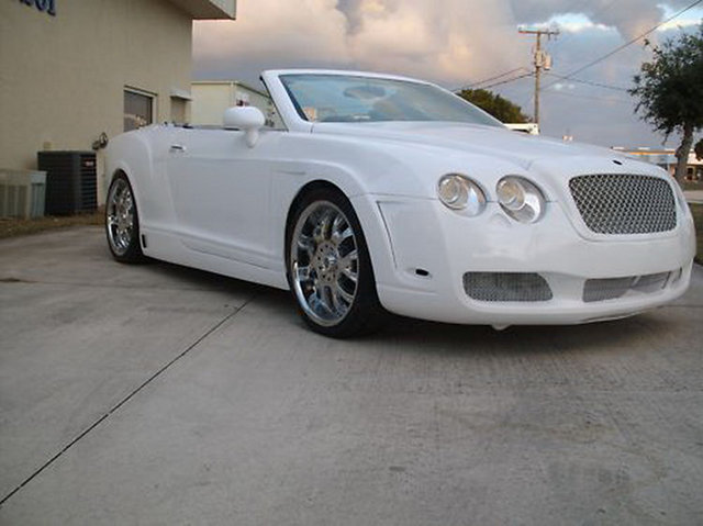 bentley continental gtc based on chrysler sebring for sale