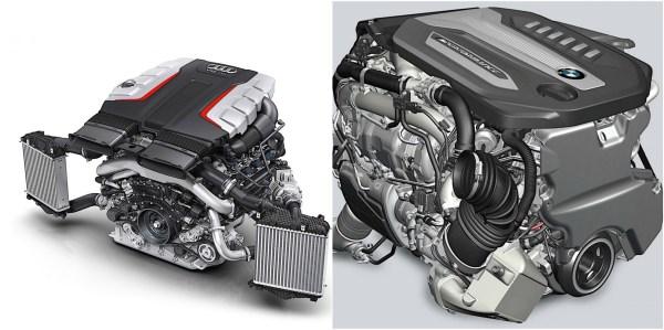 Audi Turbo Diesel Engine