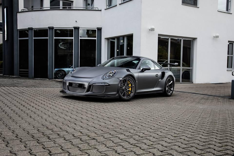 Techart Porsche 911 Gt3 Rs Pdk Is All About Carbon Fiber Autoevolution