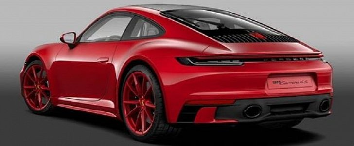 Carmine Red 2020 Porsche 911 with Sport Design Package Looks The Part  autoevolution