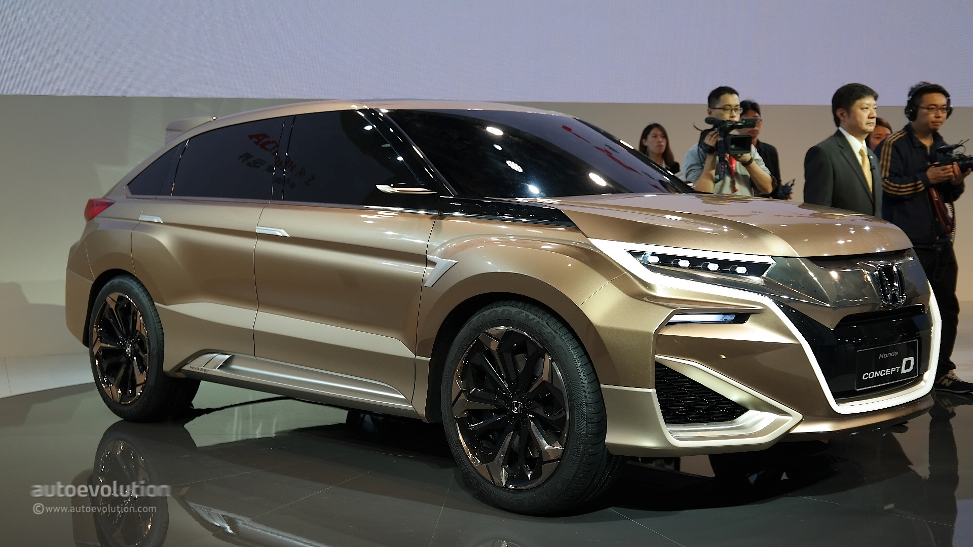 Dongfeng Honda Concept D Previews China Only Crossover At Shanghai