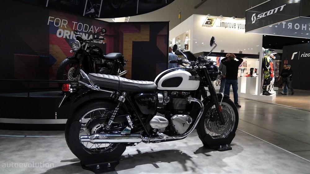 medium resolution of eicma 2015 triumph bonneville t120 and t120 black mean neo retro business
