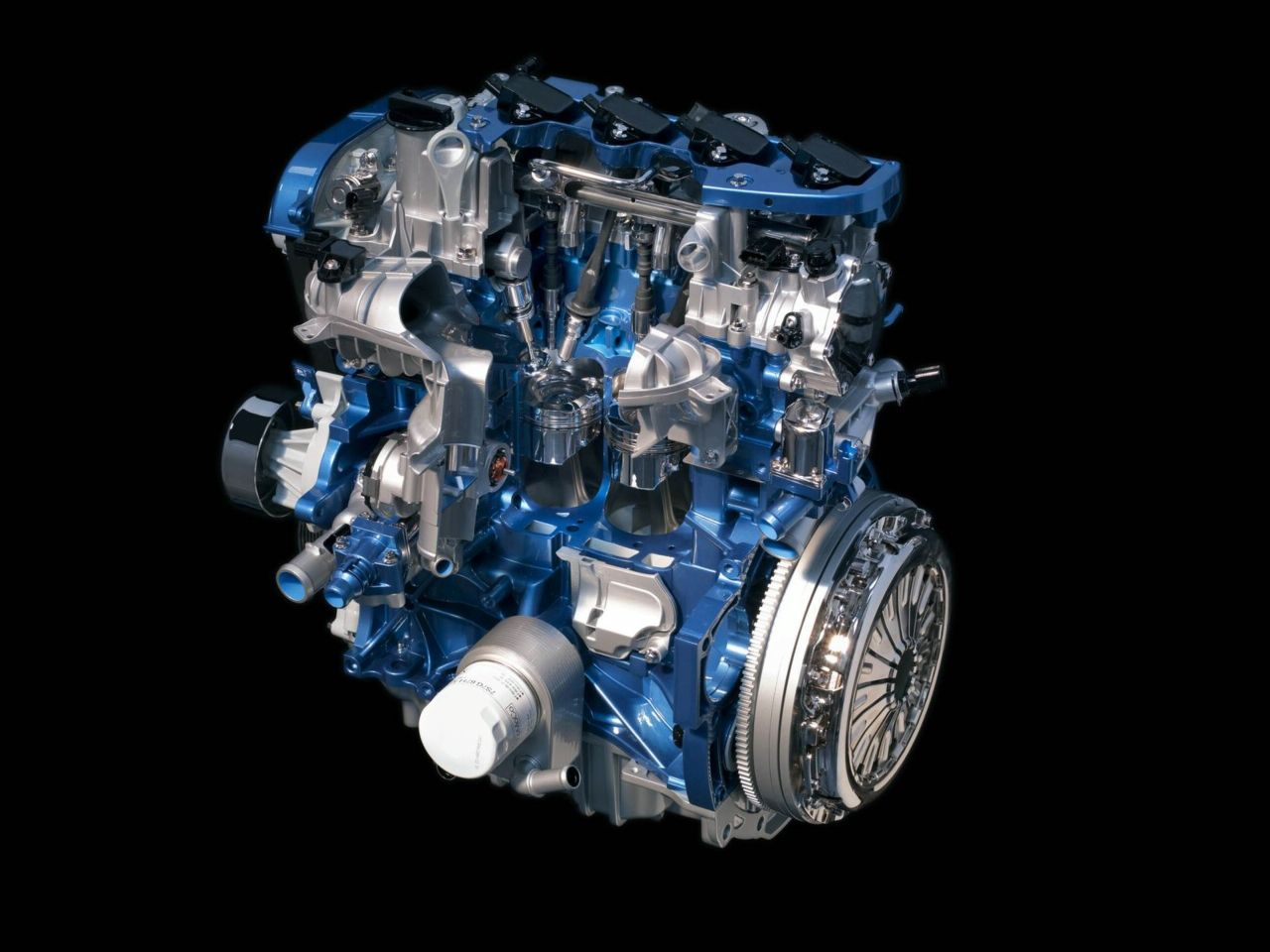 hight resolution of l4 ford ecoboost