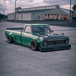 Ford F 150 Tsuchiya Special Looks Like The King Of Vintage Drift Trucks Autoevolution