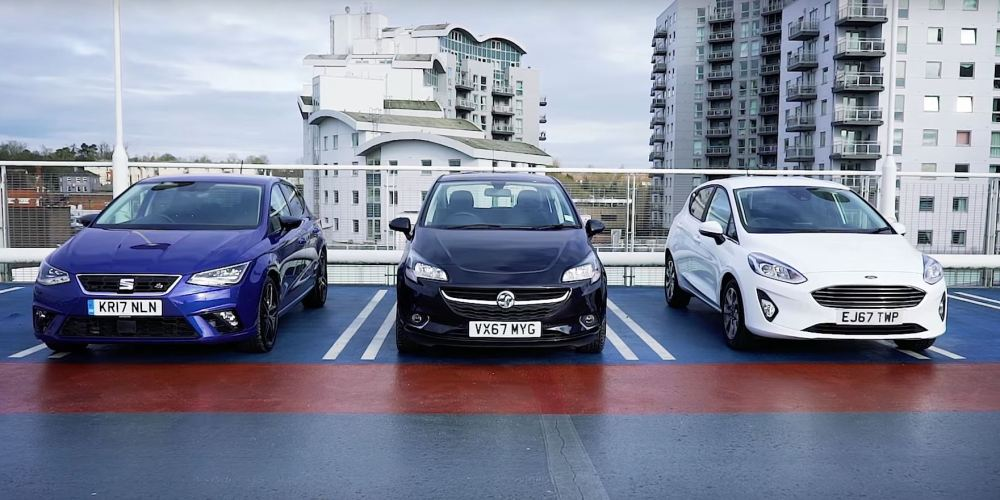 medium resolution of ford fiesta opel corsa and seat ibiza compared from a woman s perspective