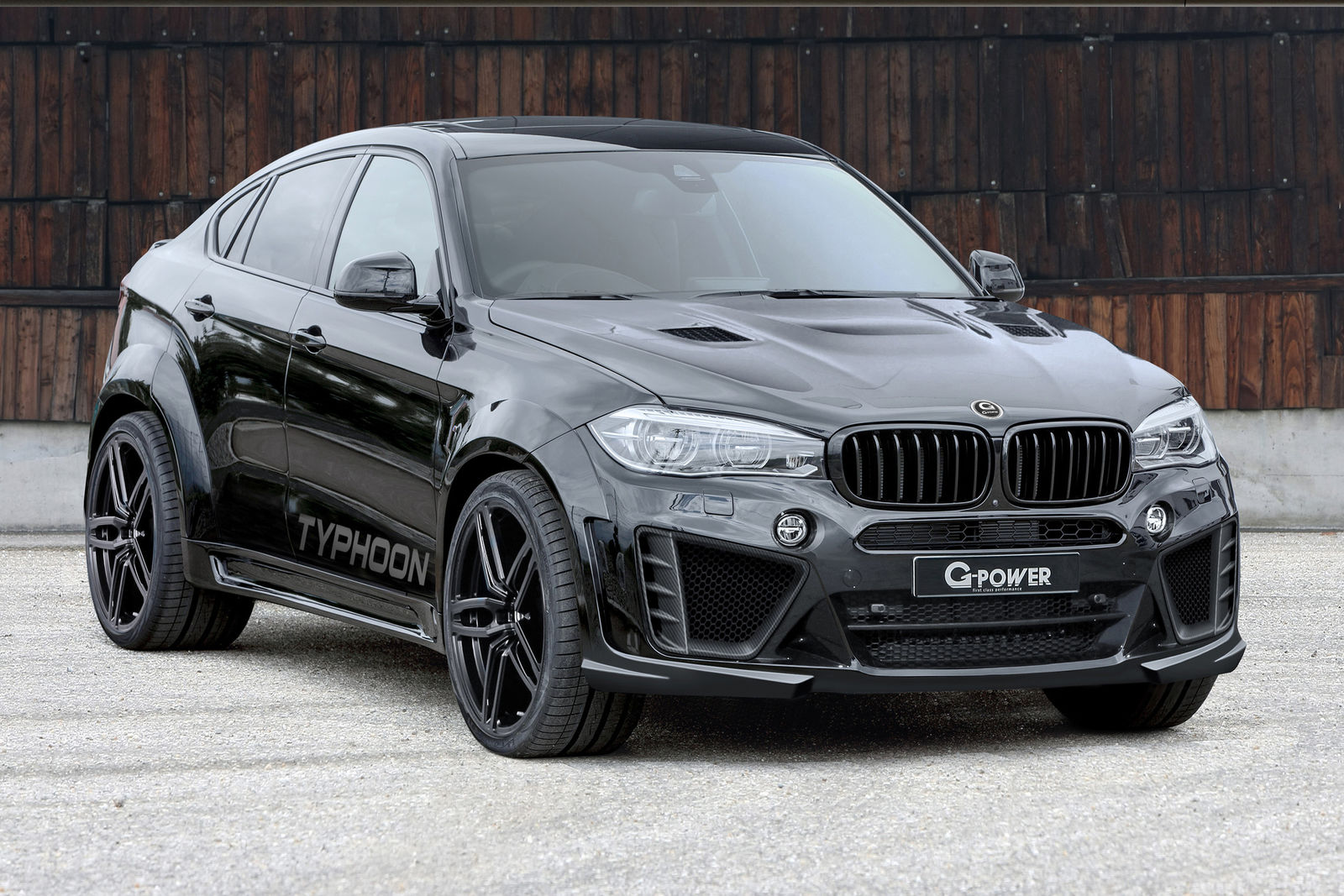hight resolution of  g power bmw x6 m typhoon