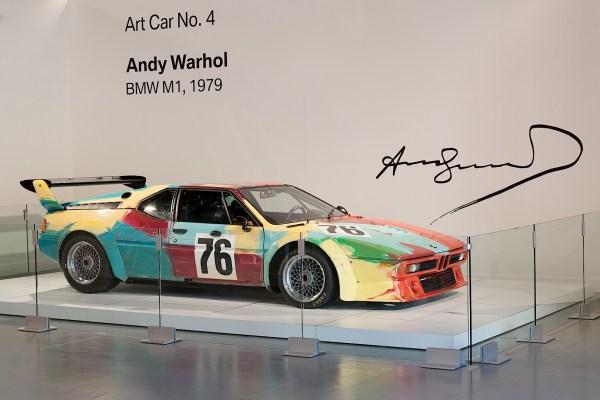 Andy Warhol BMW M1 Art Car