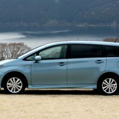 All New Toyota Camry Beda Grand Avanza Dengan Veloz 2009 Wish Debuts In Japan - Autoevolution