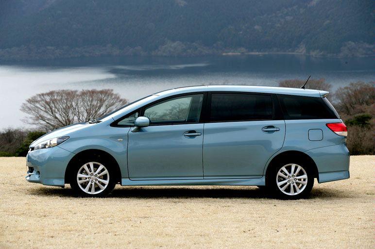 all new toyota camry rekomendasi oli grand avanza 2009 wish debuts in japan - autoevolution