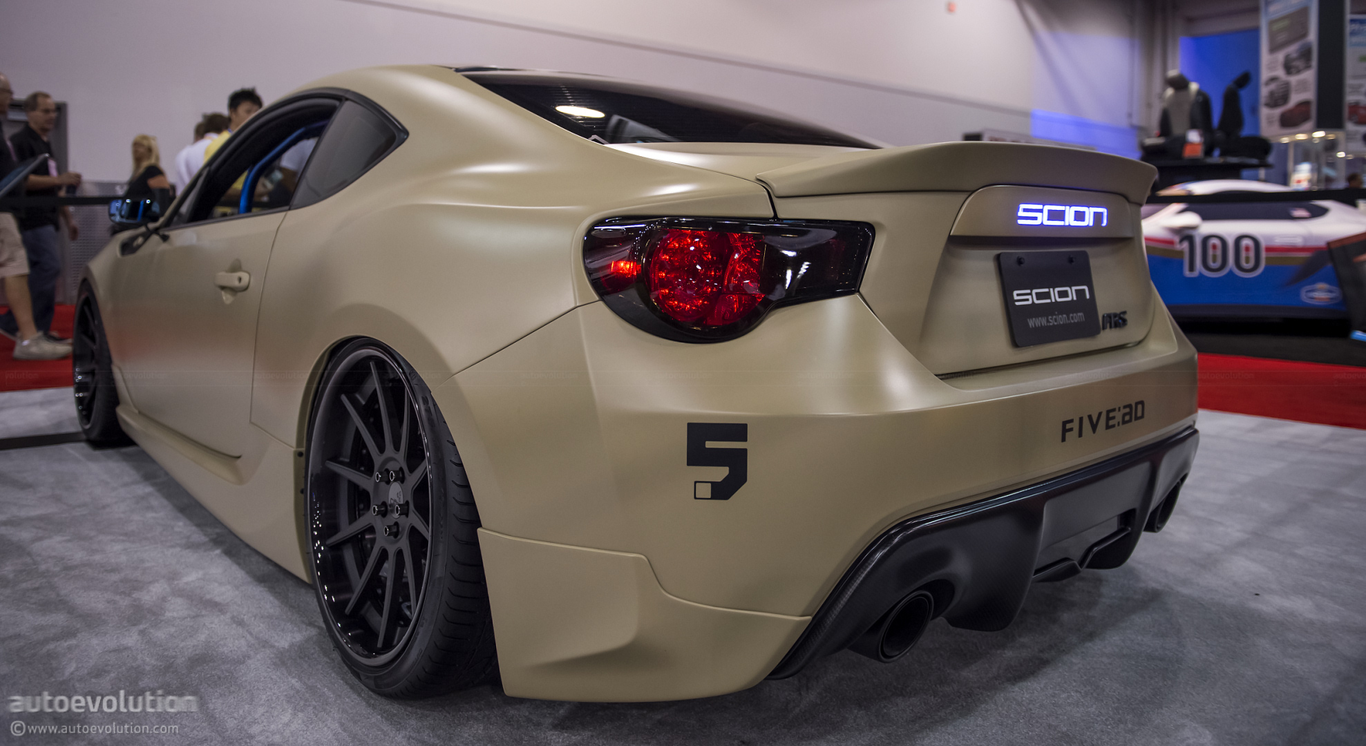 hight resolution of  scion fr s carbon stealth by