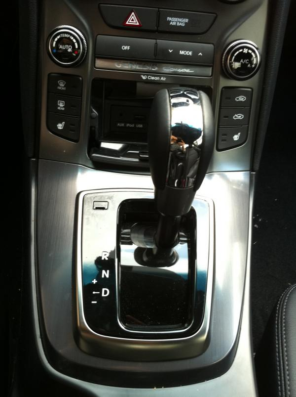 2013 Hyundai Genesis Coupe Spotted Undisguised Interior Revealed  autoevolution