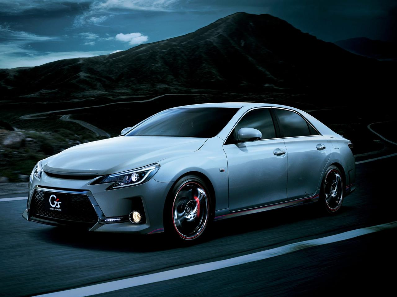 The corolla can be towed either for short distances or long distances, p. 2013 Toyota Mark X Facelift - Japan-Only - autoevolution
