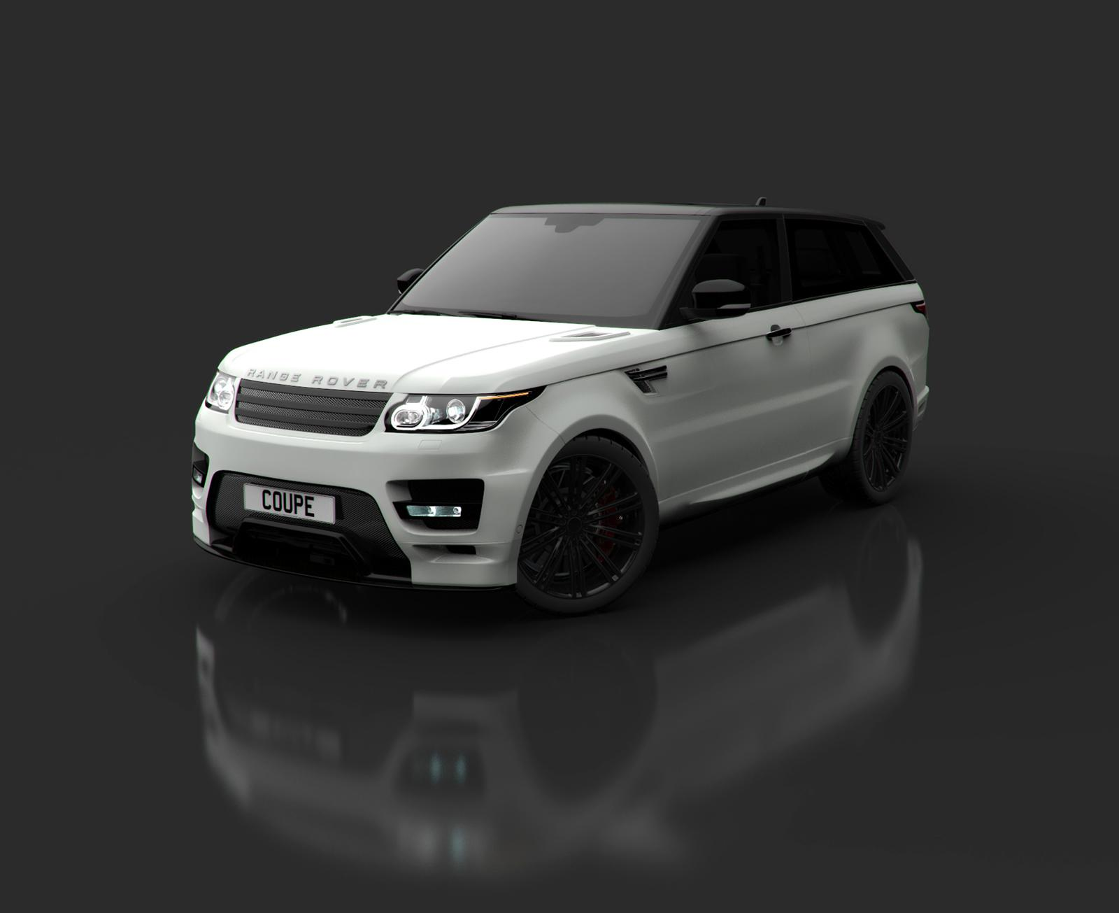 "2014 Range Rover Sport Be es a ""Coupe"" via Bulgari Design"