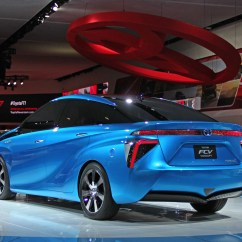All New Camry Grand Avanza Tipe E 2014 Toyota Fcv Concept: Blue Is The Green In Detroit ...